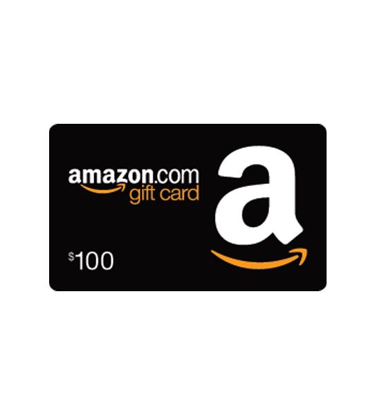 Amazon gift card prizes