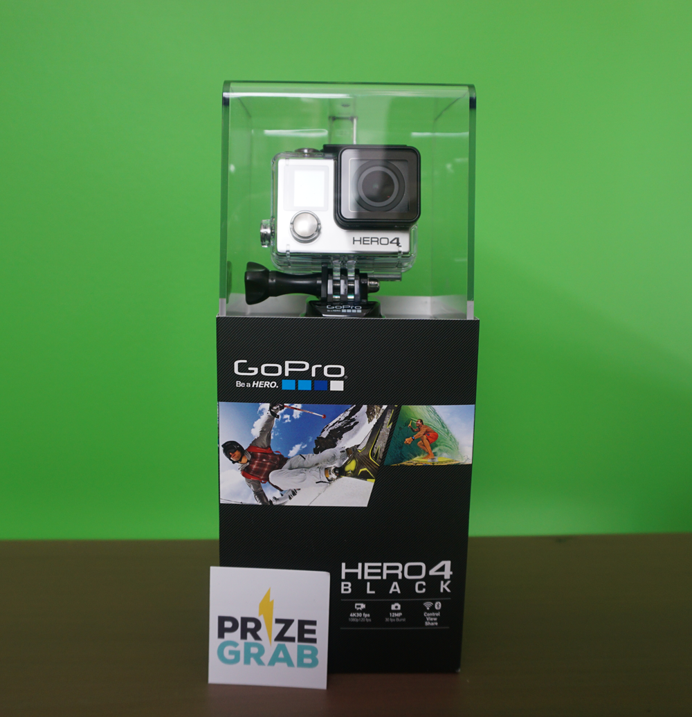 GoPro HERO4 Black Edition Giveaway!
