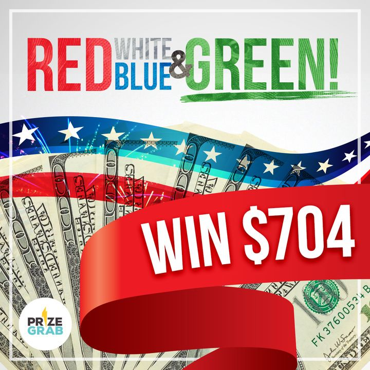 $704 Cash July Fourth Giveaway!