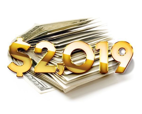 $2,019 New Year Cash Giveaway! Sweepstakes