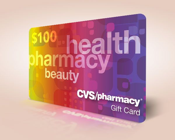 $100 CVS Pharmacy Gift Card Giveaway!