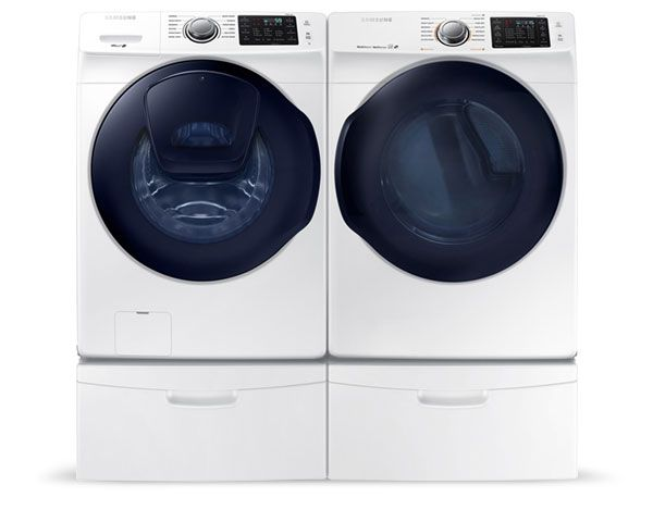 Samsung High-Efficiency Washer and Dryer!