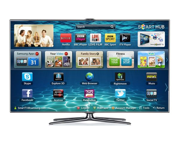Samsung 55-inch LED Smart TV