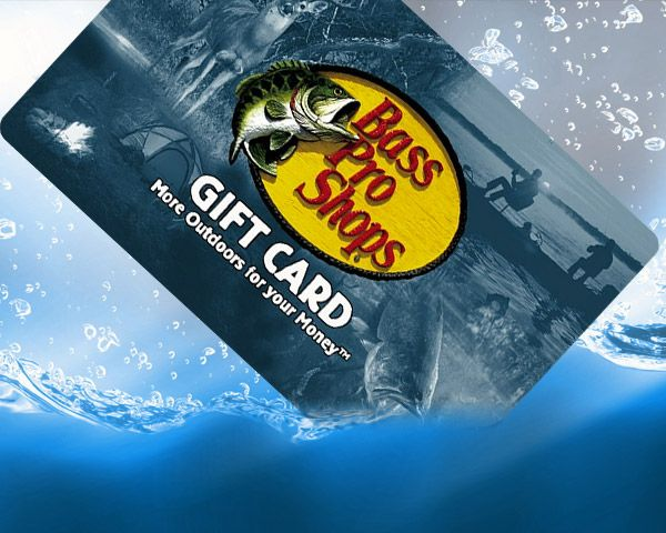 $250 Bass Pro Shops Gift Card! Sweepstakes