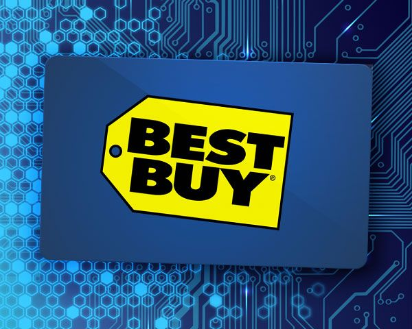 $500 Best Buy Gift Card Giveaway
