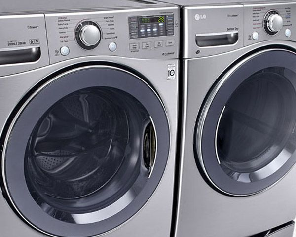 LG Ultra Large TurboWash™ Washer & Dryer Bundle