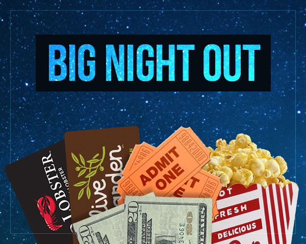BIG Night Out Sweepstakes