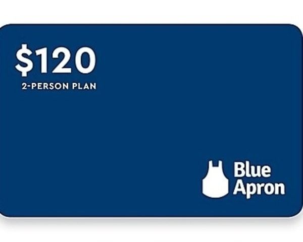 $120 blue apron gift card sweepstakes