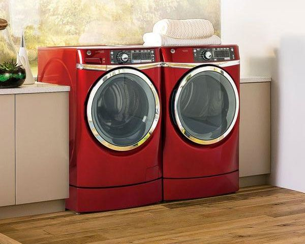 Washer And Dryers Red Washer And Dryer Set