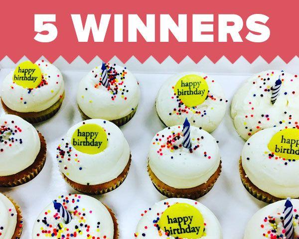 Dozen Georgetown Birthday Cupcakes! Sweepstakes