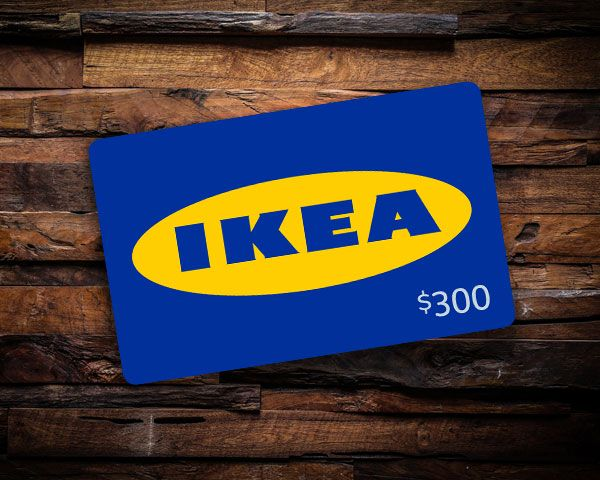 300 ikea gift card sweepstakes. Black Bedroom Furniture Sets. Home Design Ideas