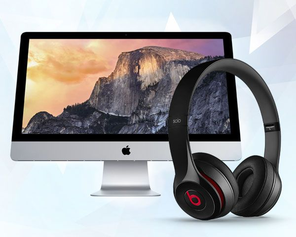 iMac PLUS Beats Headphones