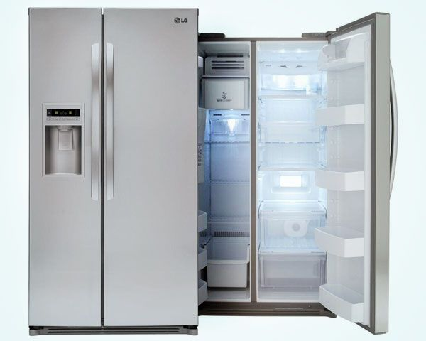 LG 26.5 cu. ft. Side by Side Refrigerator in Stainless Steel