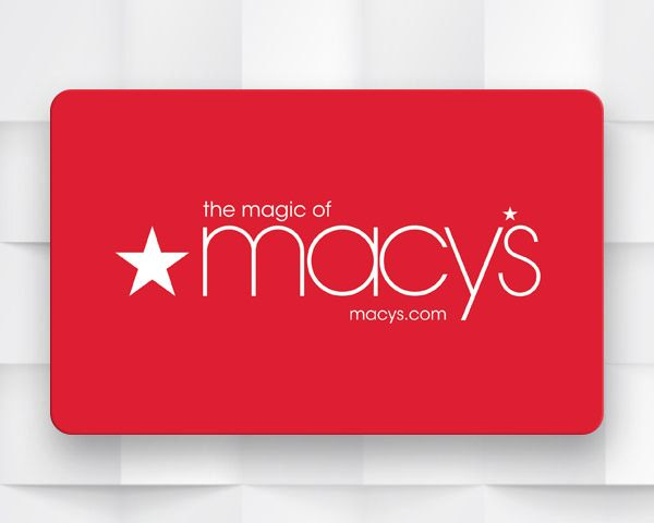 $500 Macy's Gift Card! Sweepstakes