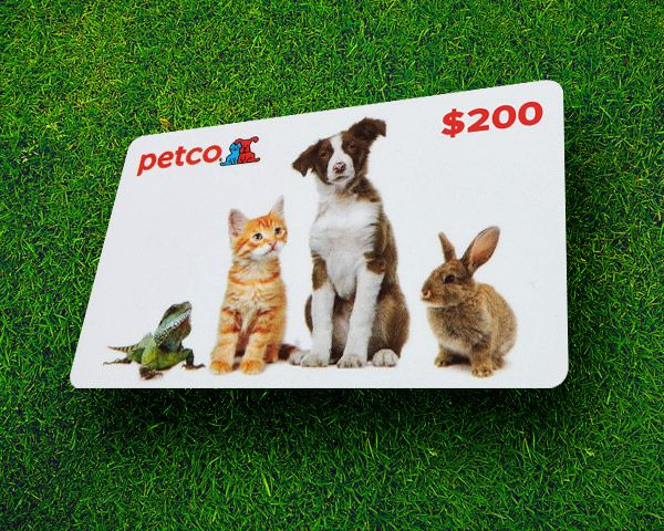 $200 Petco Gift Card Giveaway!