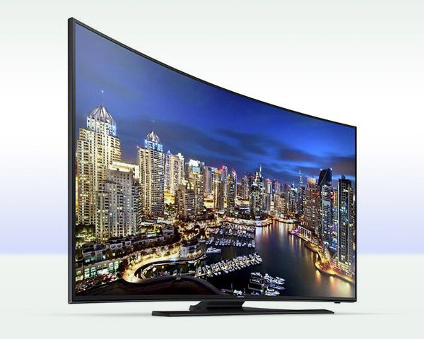 "Samsung 4K 55"" Ultra HD Curved Smart TV"