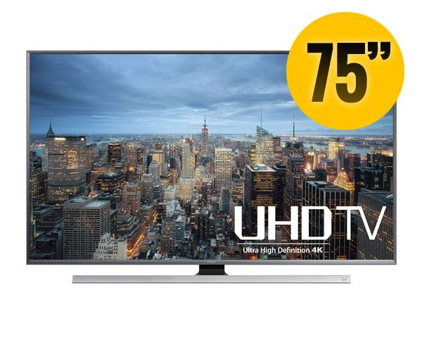 "Samsung 75"" 3D Smart LED 4K TV"