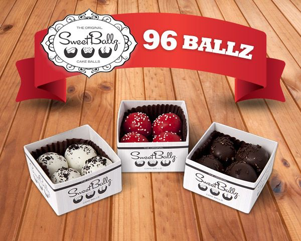 Two Variety 48-Packs of Cake Balls