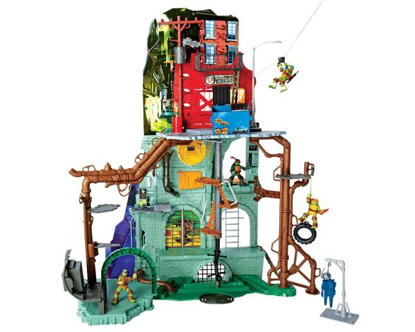 Ninja Turtles Secret Sewer Lair Playset