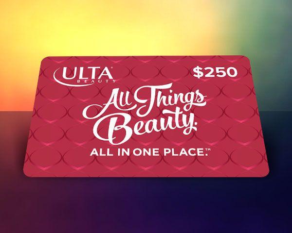$250 Ulta Gift Card Giveaway! Sweepstakes