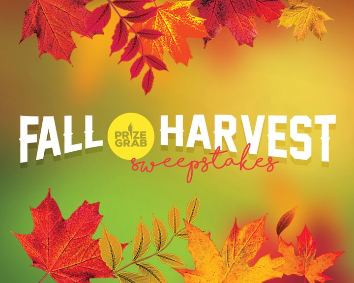 Win the Fall Harvest Sweepstakes & Giveaways