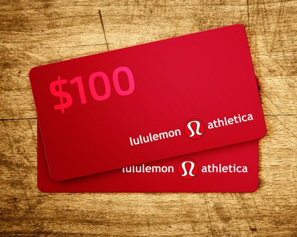PrizeGrab - $100 Lululemon Gift Card for You and a Friend!