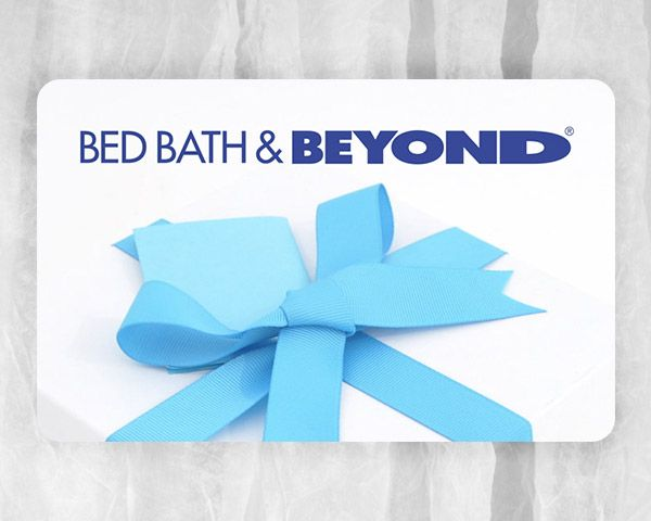 bedbathandbeyond gift card 200 bed bath and beyond gift card sweepstakes 8742