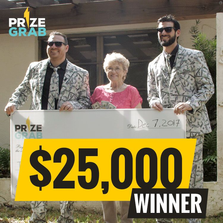 $25,000 00 Cash Giveaway Sweepstakes
